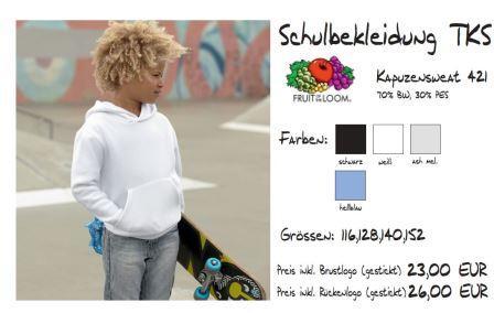 Schulkollektion FOL Ki-Kapuzenpulli