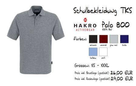 Schulkollektion HAKRO Classic-Polo