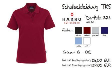 Schulkollektion HAKRO Da-Polo