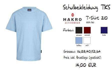 Schulkollektion HAKRO Shirt