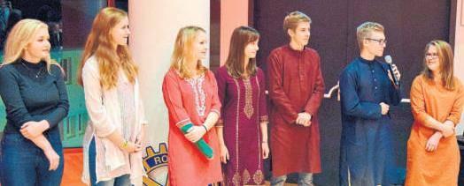 Die Schüler, darunter auch vier von der Theo-Koch-Schule, berichten von ihrer aufregenden Zeit in Mumbai. (Foto: pv)